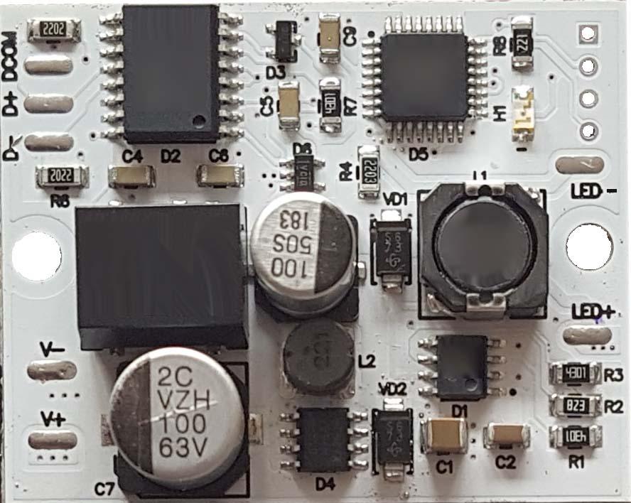 Декодер сигнала DMX одноканальный i-Lumen DMX-RDM-1.700